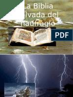 La Biblia Salvada Del Naufragio