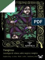[Valdemar] [Gotica 79] AA. VV. - Vampiras. Antologia de Relatos Sobre Mujeres Vampiro [26214] (r1.1)