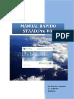 Manual Rapido STAAD Pro v8i - Español