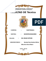 Proyecto Final (INFORME)