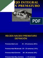 Manejo Integral Prematuro