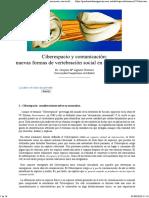 Aguirre (2004) Ciberespacio y Comunicación