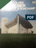 CRESTI, Carlo. Le Corbusier, La Capella Di Ronchamp