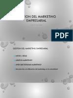 GME Sesion 01 -Definicion de Marketing