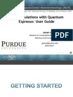 Quantum Expresso