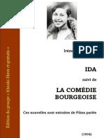La Comedie Bourgeoise by Ida Nemirovsky