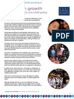 Case Studies - China's One-child Policy, Singapore's Dual Policy, And France's Pro-natalist Policy