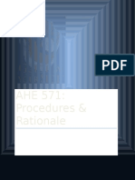 ahe 571 final submission-procedures and rationale--steps 1-4  2