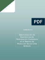 Paticipación Social en El Chile Solidario