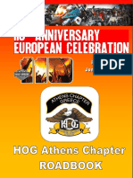 HOG 110Anniversary Ridebook