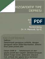 Skizoafektif Tipe Depresif