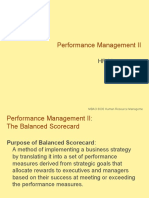 MBAO 6030 Performance Mgmt II Balanced Scorecard