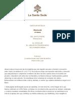 Papa Francesco Lettera AP 20161120 Misericordia Et Misera