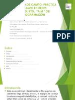 Práctica de Campo Practica de Redes EQPO NO. 8 GRUPO 5AMP