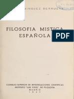 Domínguez Berrueta, Juan - Filosofía Mística Española.pdf