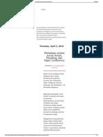Perbedaan Antara Jurnal Ilmiah, Prosiding, Dan Paper Confere