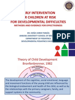 Early Intervention for Children at Risk