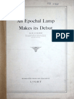 An Epochal Lamp Makes Its Debut 1930