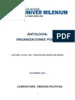 ANTOLOGÍA ORGANIZACIONES PÚBLICAS
