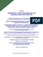 Programa Curso Generadores Sincronicos