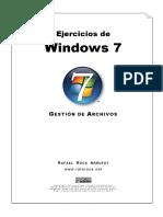 Ejercicios Windows 7 - Gestión Archivos
