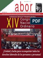 """""""LABOR"""" VOCERO OFICIAL DE LA CGTP/ NOVIEMBRE 2016"""