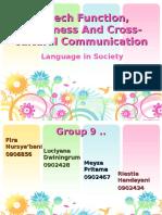 Speechfunctionpolitenessandcross Culturalcommunication 130312040742 Phpapp01