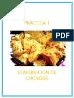 Elaboracion de Chongos