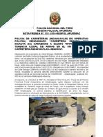 Nota de Prensa 133