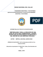 07noviembre 2015, Bertila Liduvina Garcia Diaz, Fiis, Metodologia Para La Creacion de Una b.d Multidimensional