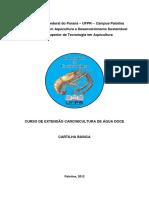 Cartilha Carcinicultura Verso Final Imprensa