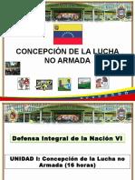 Concepción de La Lucha No Armada.