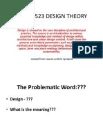 Design Theory 1