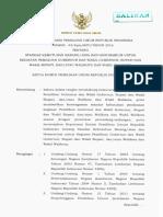 Keputusan KPU 43_Kpts_KPU_TAHUN 2016 Tentang Standar Biaya