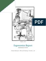 ergonomics report screened