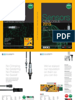 Sensor Catalogue 2015