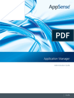 Appsense Application Manger