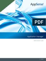 Appsense Application Manger