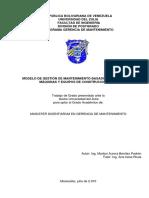 MODELO DE GESTIÓN DE MANTENIMIENTO BASADO EN RIESGO PARA MÁQUINAS Y EQUIPOS DE CONSTRUCCIÓN CIVIL