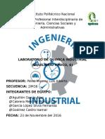 practica 6 quimica industrial UPIICSA