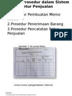 Jaringan Prosedur Dalam Sistem Retur Penjualan