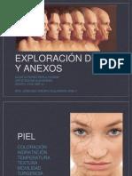 Exploración de Piel y Anexos