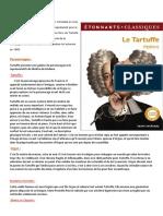 Le Tartuffe Est Une Oeuvre de Molière