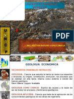 Yacimientos de Minerales Metalicos.