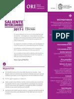Convocatoria Uniandes 2017-I