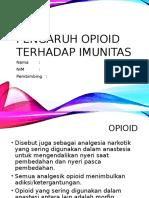 Pengaruh Opioid Terhadap Imunitas