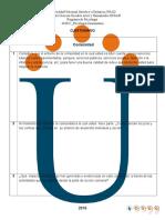 Cuestionario Fase 2 Psicologia comunitaria Unad