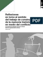 2009. Girón. Reflexiones en Torno Al Sentido Del Trabajo de Construcción de La Memoria Histórica en Medio Del Conflicto