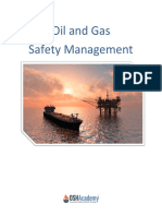 Oil and Gas Safety Management
