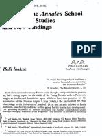 IMPACT OF ANNALES SCHOOL ON OTTOMAN STUDIES